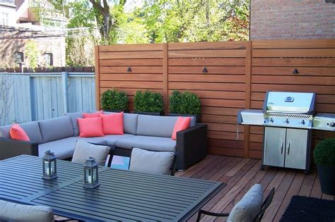 Privacy Screening For Patios by Landscape Designer Privacy Screen