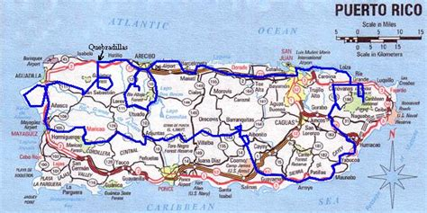 printable puerto rico road map driving maps puerto rico bing images