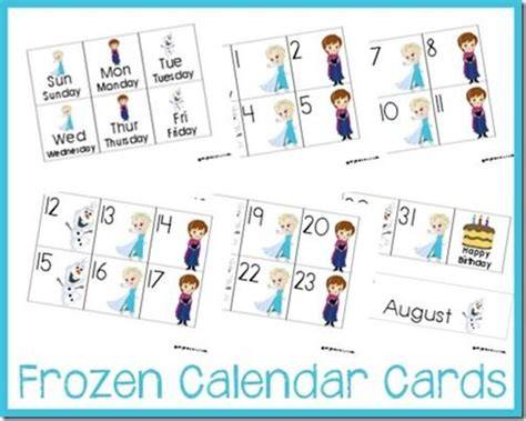 frozen flash cards printable 17 best images about frozen theme preschool learning on