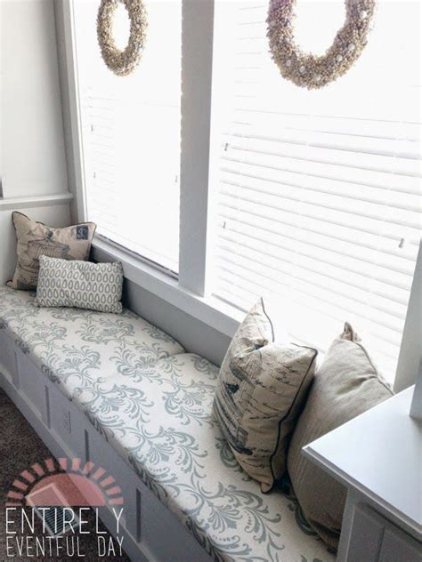 bench seat cushions diy the easiest way to make a custom bench cushion simple and