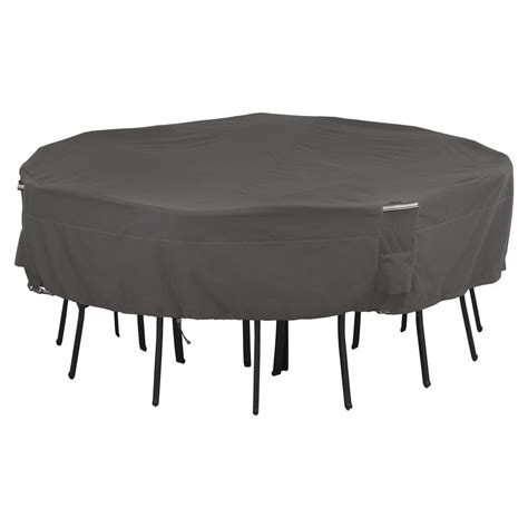 Square Patio Table Cover Classic Accessories Veranda Large Patio Table And Chair Set Cover 78942 The Home Depot