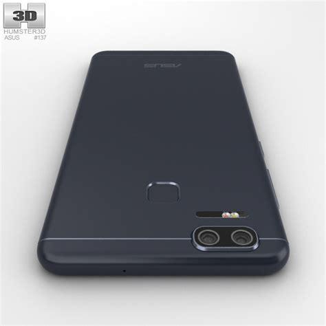 Asus Zenfone 3 Zoom Fuze Anti Original asus zenfone 3 zoom navy black 3d model hum3d