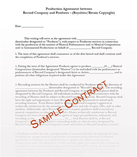 record label contracts templates contracts contract templates manager