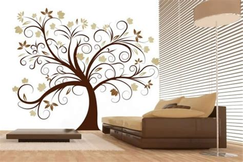 beautiful wall stickers for room interior design 30 unique wall decor ideas godfather style