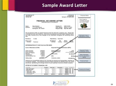 Financial Aid Award Letter Vcu 2014 2015 financial aid presentation pdf