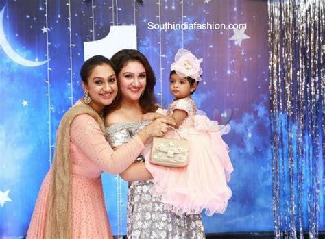 sridevi daughter photos sridevi vijaykumar daughter rupikaa s 1st birthday