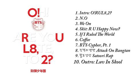 download mp3 bts o rul8 2 bts 방탄소년단 o rul8 2 the 1st mini album full album