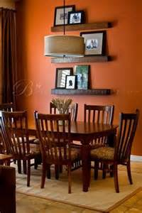 burnt orange dining