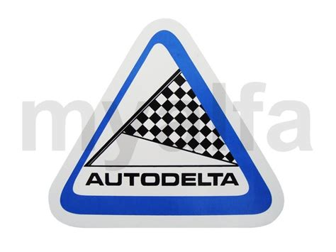Alfa Aufkleber Shop by Alfa Romeo Aufkleber Quot Autodelta Quot 110 X 100