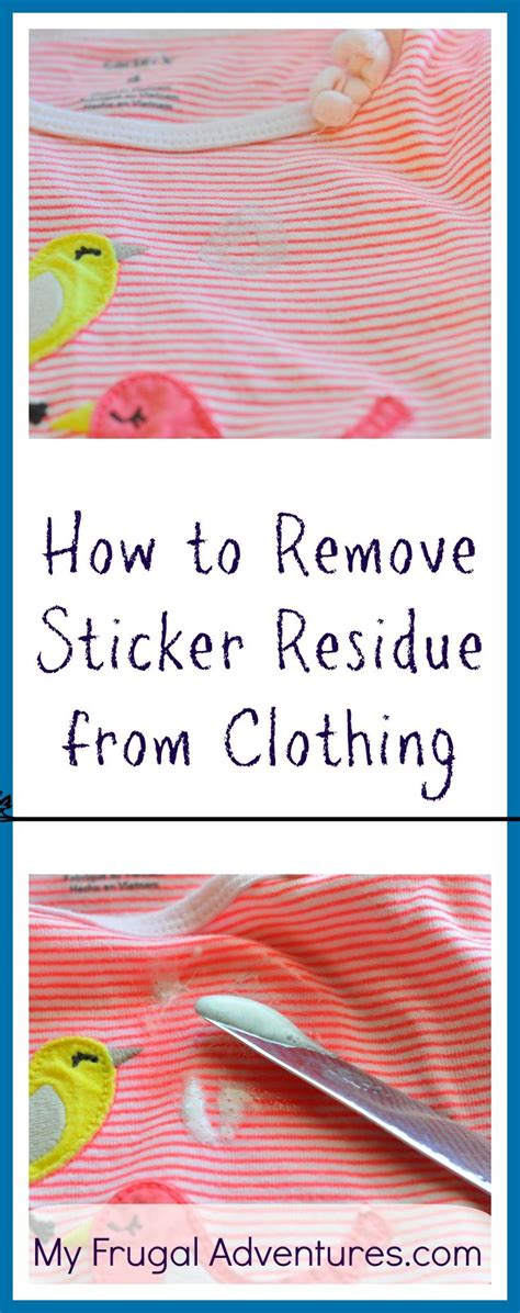 Aufkleber Aus Kleidung Entfernen by 25 Best Ideas About Remove Stickers On Remove