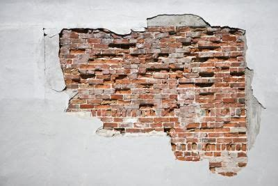 Fake Exposed Brick Wall | how to create faux exposed brick wall using venetian