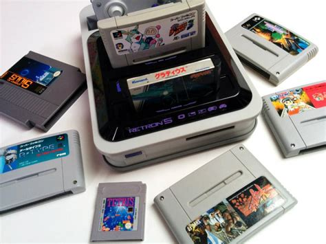 Retro Console System Brings Together The Best Of The 20th Century by Retron 5 Gaming System The Retro Console For School