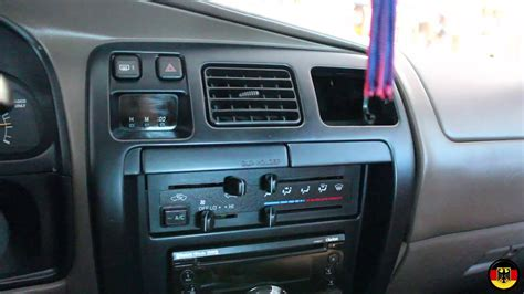 automobile air conditioning repair 2001 toyota 4runner navigation system 1996 2002 toyota 4runner ac vent replacement youtube