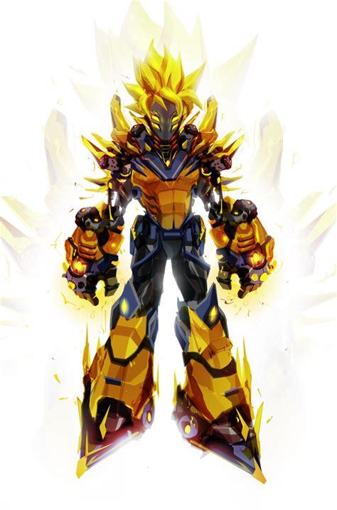 Imagenes De Goku Robot | il r 233 invente des super h 233 ros marvel dc et jeux vid 233 o en