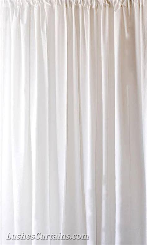 White Velvet Curtains 15 Ft H White Velvet Curtain Panel Drapery For Stage Background Ebay