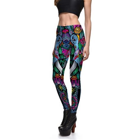 colorful workout colorful elephant s printed workout