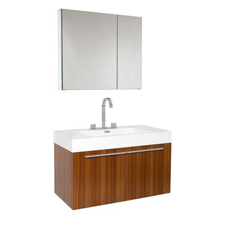bathroom vanity medicine cabinet 35 5 inch teak modern bathroom vanity with medicine