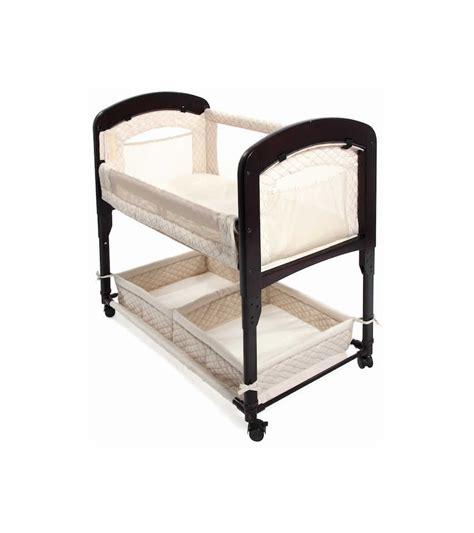 Wooden Co Sleeper Bassinet arm s reach cambria wood co sleeper bassinet