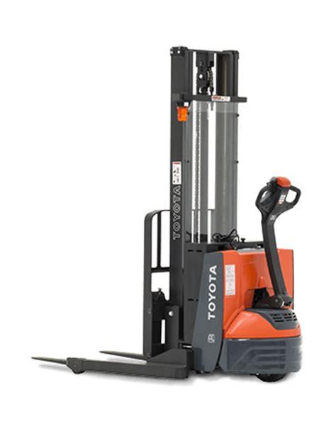 toyota stacker truck material handling industrial lift equipment toyota