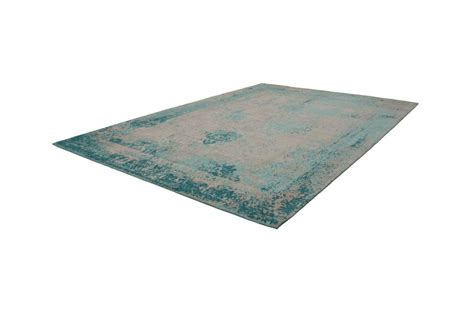 Teppiche Used Look by Vintage Teppich T 252 Rkis Used Look Teppich Handgewebt Blau