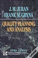 Juran S Quality Planning And Analysis For Enterprise Quality quality planning and analysis j m juran wook