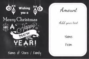 Merry Gift Certificate Templates by Gift Certificate Templates