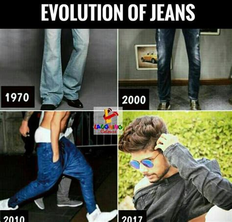 Jean Shorts Meme - evolution of jeans funny meme 2000 to 2017 memes