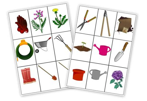 printable games about flowers miniature masterminds