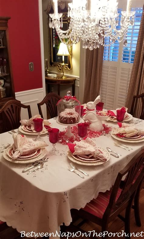 valentine s day table settings valentine s day table setting with a guest appearance by
