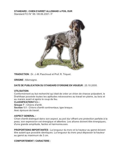 Poil A Bois 422 by Standard Fci Braque Allemand Poil Dur