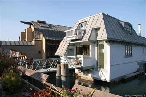 kalifornien haus kaufen sausalito houseboats schwimmende hausboote in der san