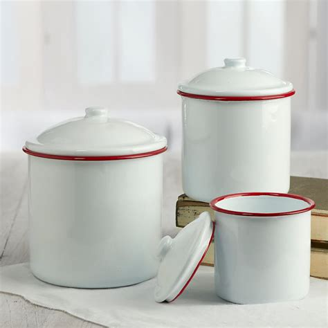 white kitchen canisters sets 28 white enamel kitchen canisters set white enamel