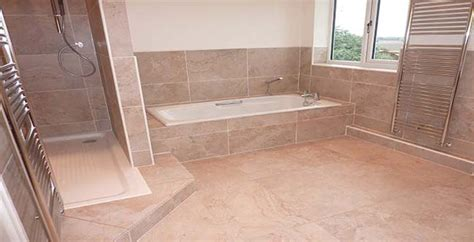 Bathroom Wall Tile Ideas For Small Bathrooms durham tiling bathroom with large porcelain tiles