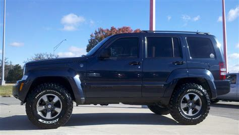 Lifted 2011 Jeep Liberty Teamriceracing 2008 Jeep Libertysport Sport Utility 4d