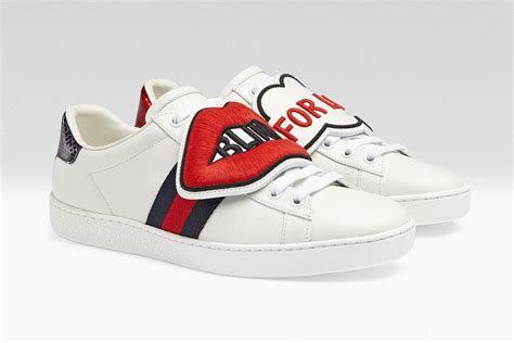 New New New Gucci 8 you can now customise your gucci ace sneakers with new patches pause s fashion