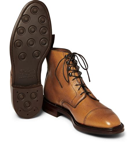 Georges Handmade Boots - lyst kingsman george cleverley leather lace up boots in
