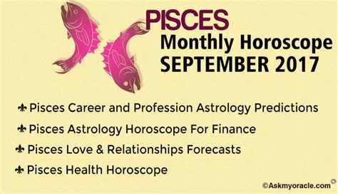 Pisces Monthly Horoscope by Genuine Horoscope With Ask Oracle