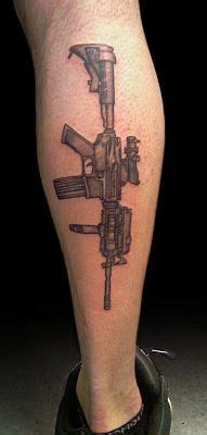 m16 tattoo m16 rifle by jakedoestattoos royalfleshtattoo
