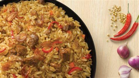resep nasi goreng rendang kaya rasa masak  hari