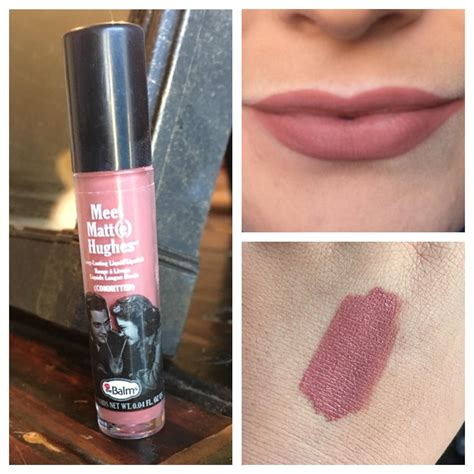 Murah The Balm Meet Matte Lasting Liquid Lipstick the balm meet matt e hughes lasting liquid lipstick in committed by chynaspivey snupps