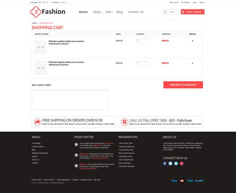 html shopping cart template responsive html template fashion by tvlgiao themeforest