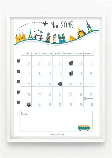 25 best ideas about calendrier mai 2015 on