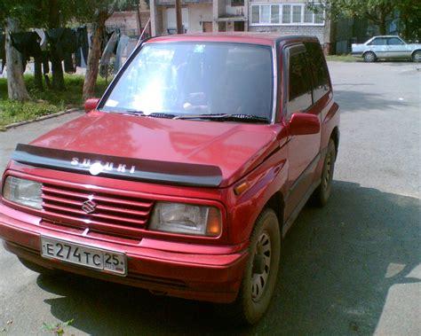 Suzuki Escudo 1994 Suzuki Escudo Pictures 1600cc Gasoline Automatic