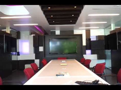 conference room technology high tech conference room with crestron motorized led tv s