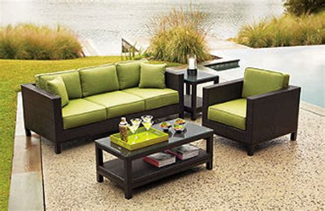 patio couches patio furniture set for small spaces