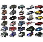 GTA3 HD Vehicles Tri Pack III V11 For GTA San Andreas Back Left View