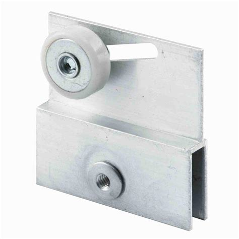 Sliding Shower Door Roller Prime Line Aluminum Roller Bracket For Sliding Frameless Shower Doors 2 Pack M 6054 The Home