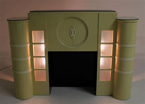 mid century modern fireplace for sale white lacquer mid century modern style faux fireplace