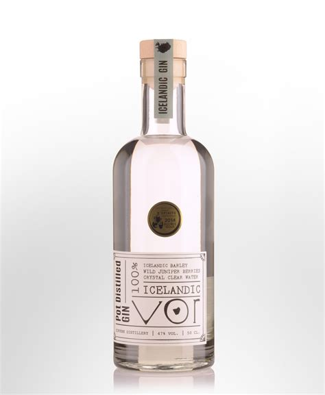 Iceland Vodka 500ml Grosir 1 vor pot distilled gin 500ml