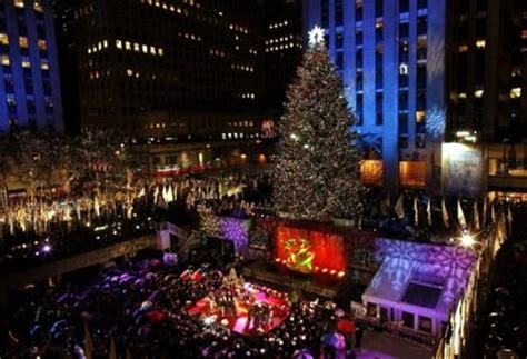 nyc tree lighting 2016 rockefeller center tree lighting 2017 best